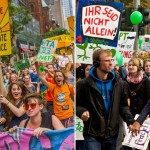 How does climate activism differ in the U.S. and Germany?